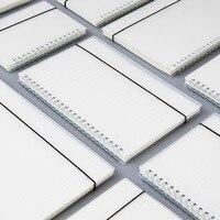 80 sheets/pc PP mat bobin defter boş nokta ızgara basit okul öğrenme not defteri