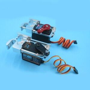 1Set Thrower+ES3005/SPT Servo Set 6KG-8KG Throwing Device Dispenser Drop Hook for DIY RC Fishing Boat/Drone/UAV/Airplane