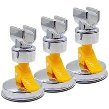 3 упаковки часы с чашкой на присоске для ванной ручной держатель для душевой головки держатель для душевого распылителя кронштейн для душевой головки регулируемая высота держатель для душа