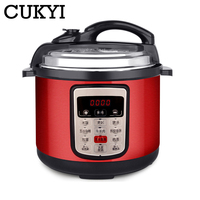 CUKYI 6L 8L Multifunction Stainless Steel Electric Pressure Cooker digital control multicooker rice steamer slow cooking pot EU|Electric Pressure Cookers| |  -