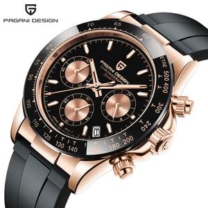 Image 2 - PAGANI 2020 Neue Quarz männer Uhren Sport Business/Wasserdicht/Uhr Männer Edelstahl Männlichen Handgelenk Uhren Relogio masculino