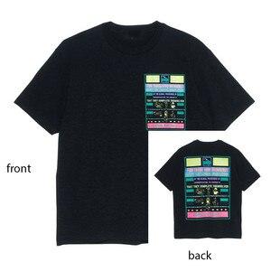 Новая уличная футболка с короткими рукавами с принтом, новинка, модные мужские и женские размеры