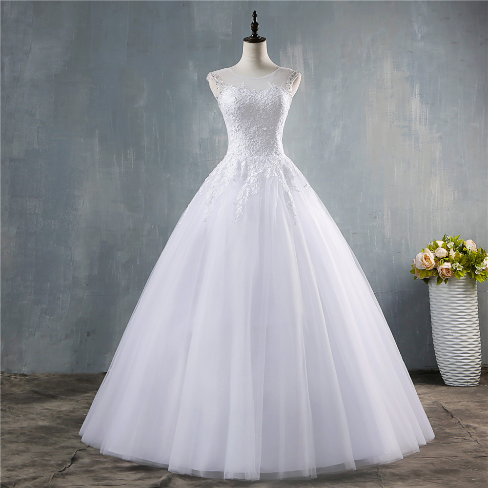 14---26 New A-Line Plus Size White//Ivory Bridal Gown Wedding Dress Stock Size