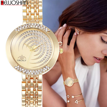 Hot Brand Luxury Bracelet Women Watches Fashion Quartz Crystal Rhinestone Watch Ladies Casual Dress Sport WristWatch Reloj Mujer yaqin fashion elegant women s rhinestone quartz watch lady casual luxury dress bracelet watches diamond crystal clock