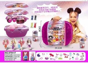 1 pces aleatórios na na na! Surpresa moda boneca nanana lols bonecas brinquedos especiais presente de aniversários para meninas crianças mais estilo pode escolher