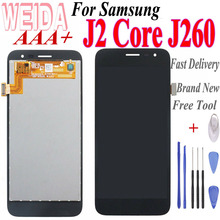 LCD WEIDA 5'' For Samsung Galaxy J2 Core J260 LCD Display Touch Screen Digitizer Assembly Replace with Free Tool цена в Москве и Питере