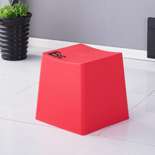 Nordic Creative Plastic Keyboard Stool Dining Chairs for Dining Stool Restaurant Furniture Kitchen Bedroom Outdoor Dining Stool