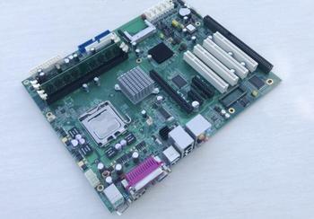 100% OK Original Embedded IPC Mainboard P4LA AOI ATX Industrial Motherboard 4*PCI 1*ISA 6*COM With CPU RAM