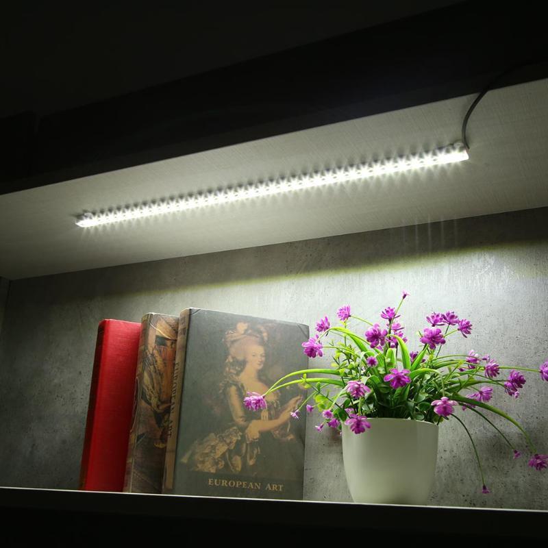 USB LED Strip Lamp Bar Light SMD5630 5V Low Voltage Light Tape for Shelf Wardrobe LED rigid light bar energy saving Light