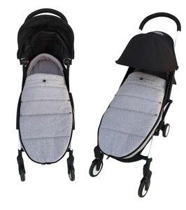Image 3 - Universale del bambino passeggino accessori calze Invernali Sacco A Pelo Antivento Caldo Sleepsack Bambino Passeggino Coprigambe Per Babyzen yoyo