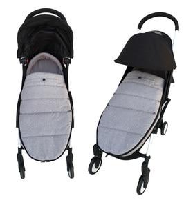 Image 3 - אוניברסלי תינוק עגלת אביזרי חורף גרבי שינה תיק Windproof חם Sleepsack תינוק Pushchair Footmuff עבור Babyzen yoyo
