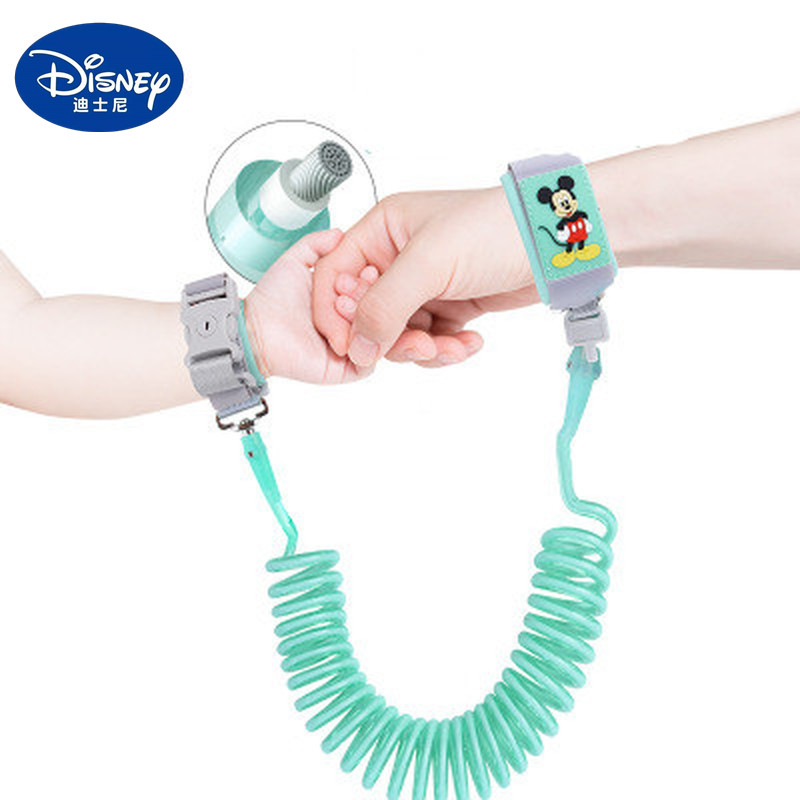 Bracelet Anti-Lost Baby Child Disney Mickey Traction-Rope Artifact Slip Safety Minnie