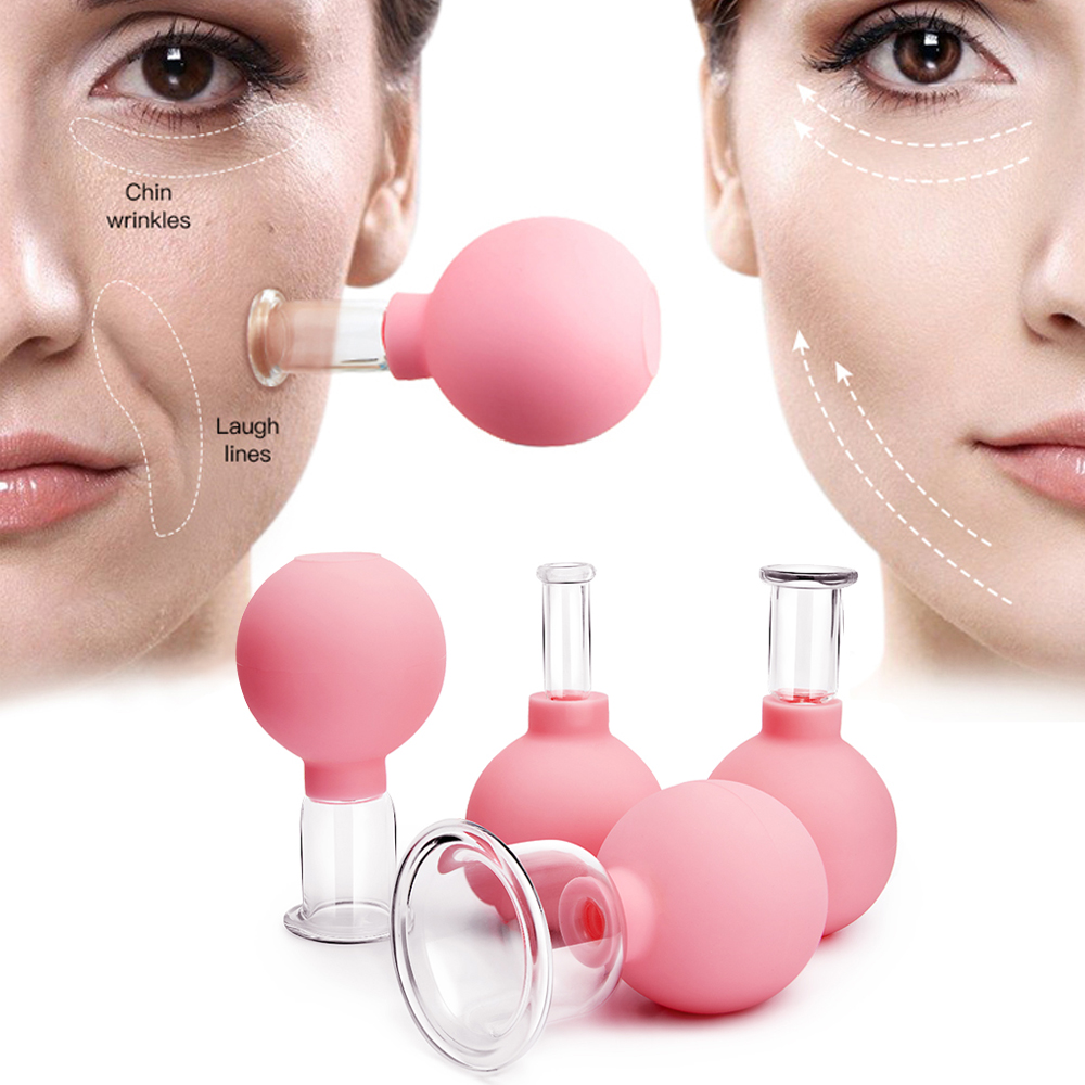 Rubber Massage Body Cups Vacuum Cupping Glasses Face Skin Lifting Body Facial Cups Anti Cellulite Chineses Cupping Therapy Tool 1