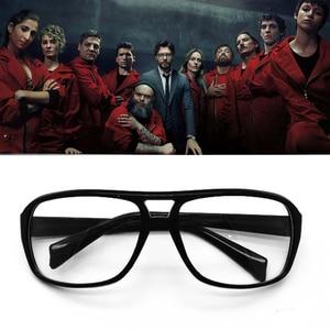 La casa De papel Money Heist Glasses Cosplay Props Eyewear Mask Salvador Dali Halloween Accessories El Profesor Sunglasses(China)