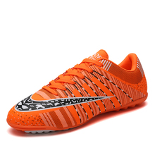 Soccer Shoes Children Outdoor Football Shoes Men Summer Breathable Sneakers Boys Anti-Skid Soccer Boots Lightweight Sport Shoes zhenzu man street soccer shoes breathable athletic sport shoes men sneaker football shoes for children indoor soccer shoes