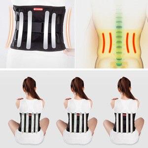 Image 5 - Tcare tirantes para espalda inferior Lumbar y cinturón de soporte para hombres y mujeres aliviar el dolor de espalda inferior con ciática, escoliosis dolor de espalda