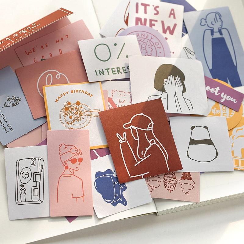 Island Garden Season 2 Series Bullet Journal Decorative Washi Stickers Scrapbooking Stick Label Diary Stationery Album Sticker