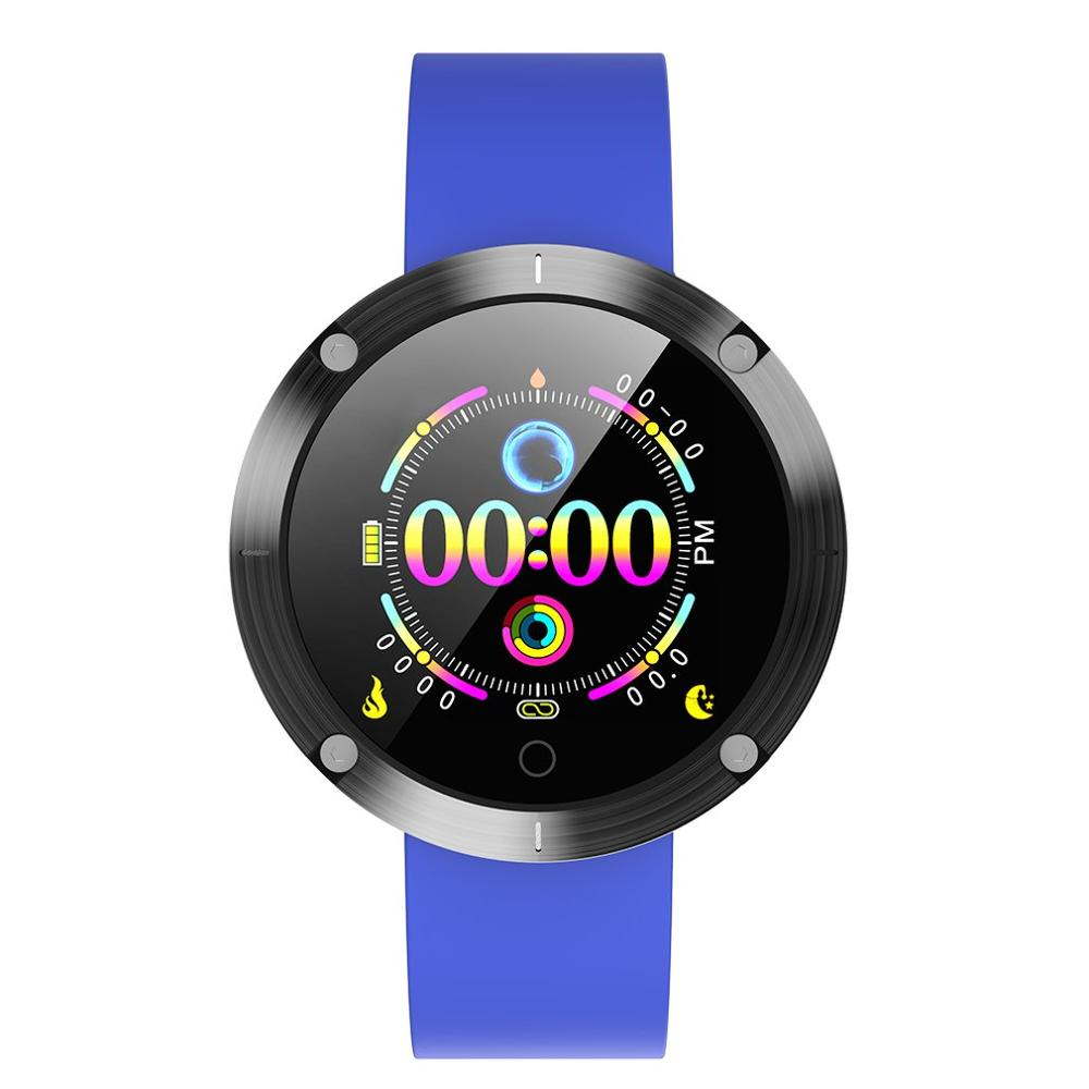 OLOEY <font><b>W5</b></font> <font><b>Smart</b></font> Bracelet Heart Rate Physical Examination Multi-Sports Mode Remote Camera Waterproof <font><b>Watch</b></font> image