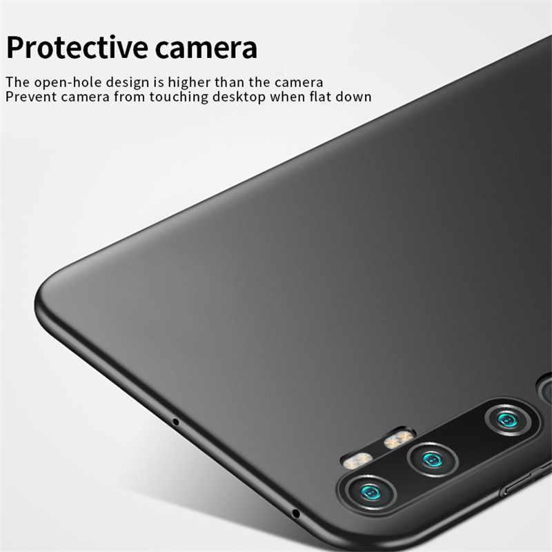 Untuk Xiaomi Mi Catatan 10 Pro Case Anti-Selip Ultra Slim Hard Bumper PC Case Cover untuk Xiaomi Mi 10 Pro Cover Untuk Mi Note 10 Lite