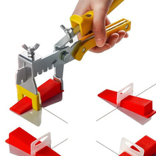 Professional tile leveling system for tile and floor screed