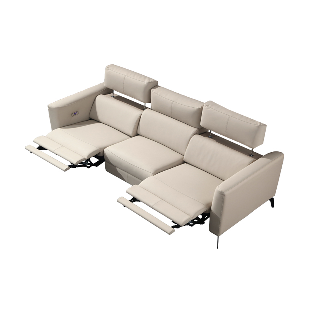 electric recliner relax massage theater living room Sofa functional genuine leather couch Nordic modern диван мебель кровать mue image