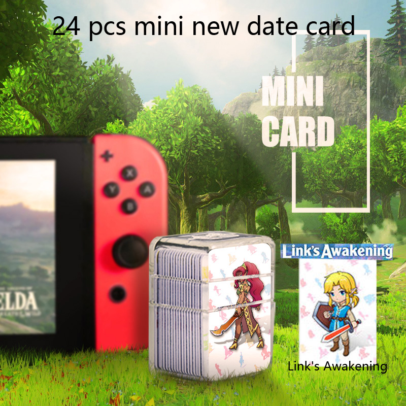 Image 4 - 24pcs NTAG215 Zelda NFC Card 20 Heart Wolf Revali Mipha Daruk Urbosa For amiibo  Game the Legend of Breath of the wild NS Switch-in Access Control Cards from Security & Protection