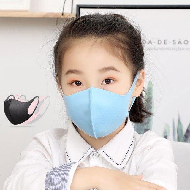6/3/1pcs Cotton Anti-dust Mask Flu Face Mask Unisex PM2.5 Washable Reusable Anti Haze Mouth Mask breathable Warm Mask Black Mask