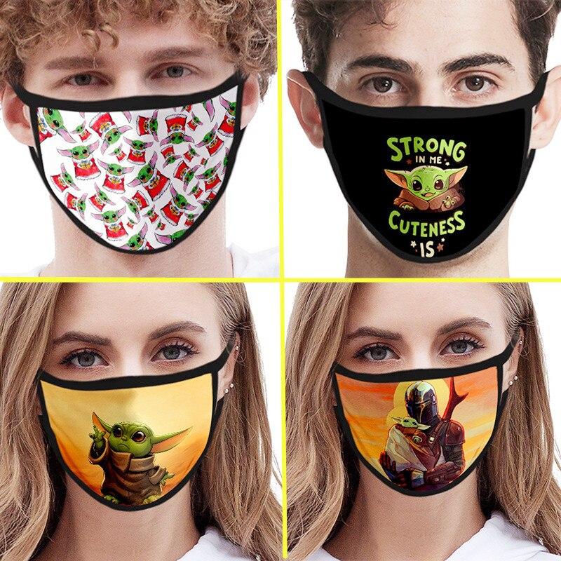 The Mandalorian Baby Yoda Mascarillas Mask Cosplay Costume Accessories Star Wars Face Masks