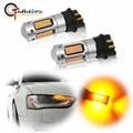Gtinthebox Canbus PW24W PWY24W светодиодный светильник для Audi BMW Volkswagen, светильник с поворотным сигналом, дневной ходовой светильник, DRL, желтый, белый