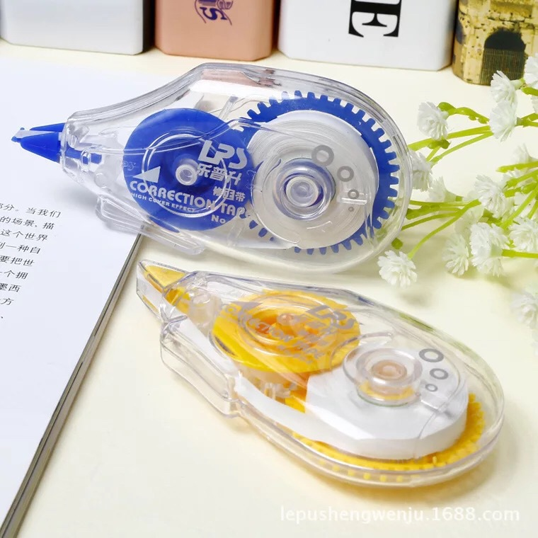 LPS Correction Tape Xiu Lang Corretion Pen/fluid Creative Simple Correction Tape Office Learning Stationery 954