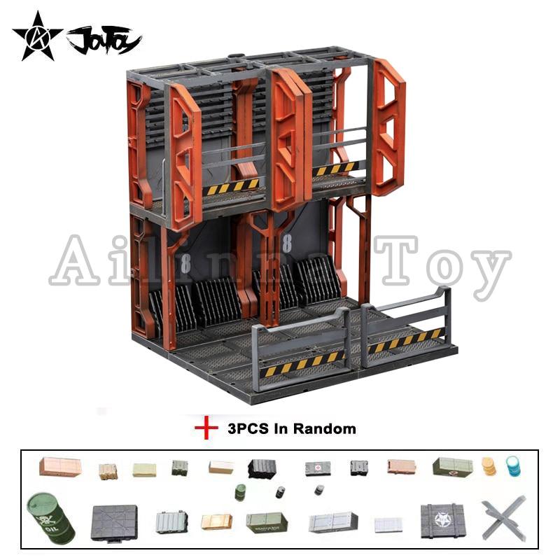 [Pre-Order]JOYTOY 1/18 Diorama Mecha Depot Staging Area Anime Model Toy Free Shipping