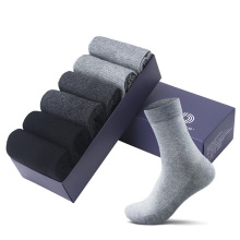 JIAYAN 6Pairs/Lot Men's Socks Business Men Black Socks Male