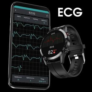 Image 5 - L13 ساعة ذكية مراقب معدل ضربات القلب الرجال النساء Smartwatch IP68 مقاوم للماء جهاز تعقب للياقة البدنية الرياضة بلوتوث دعوة PK DT98 DT78