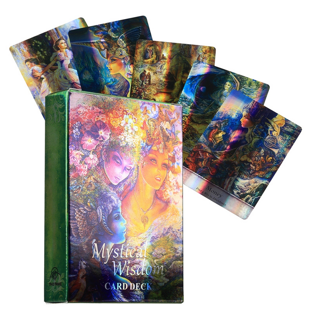 Классическая настольная игра, Веселая игра, руководство богини, Оракл, прошедшая жизнь, мистическая мудрость, Хрустальный Ангел, ангел, отве...
