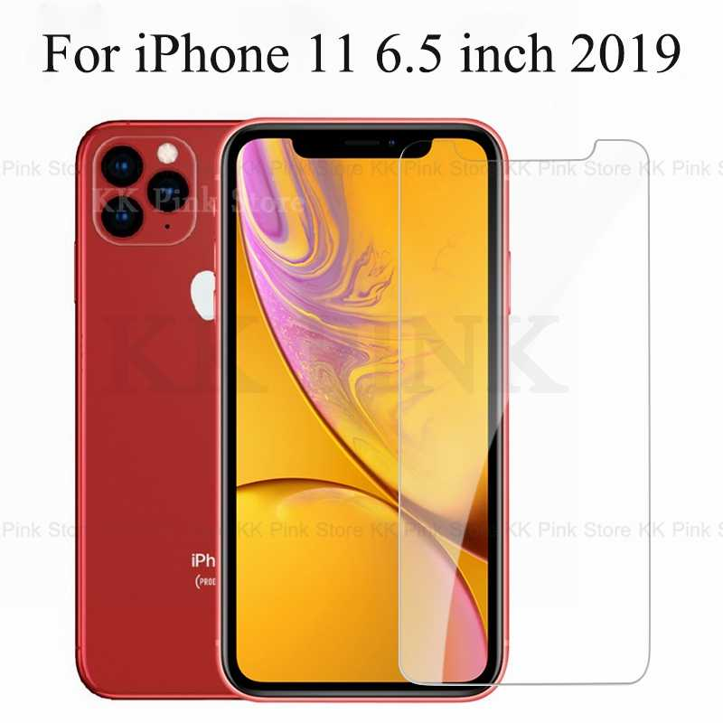 Tempered Glass For iPhone 11 XS XR XS MAX Screen Protector Cover For iPhone 8 X 7 6 6S Plus XI XIR Pro 11 6.1 6.5 5.8 inch 2019
