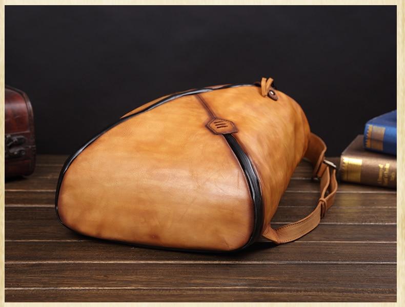 Δερμάτινο ανδρικό σακίδιο ανδρική τσάντα για φορητό υπολογιστή ανδρικό σακίδιο ταξιδιού msow