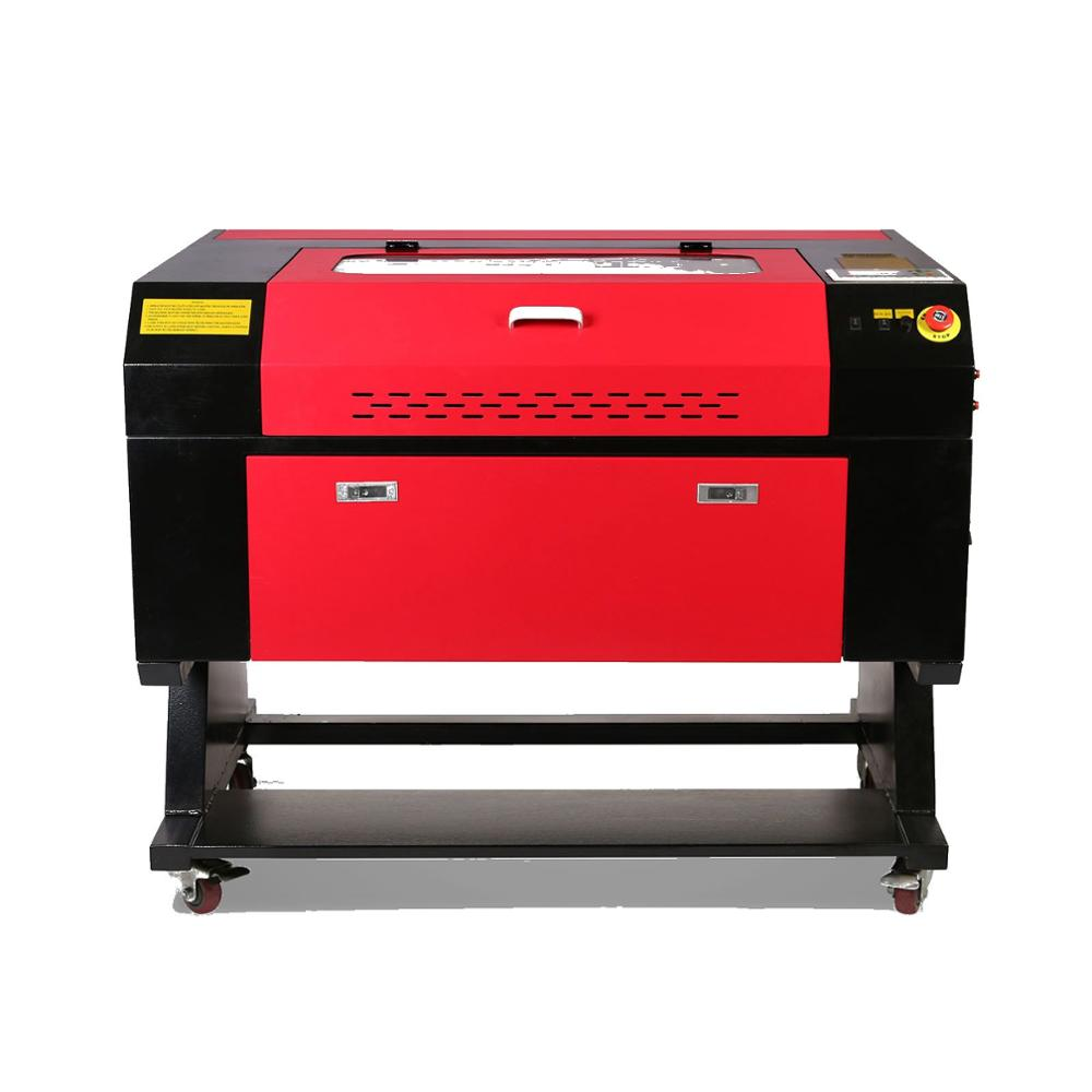 80W CO2 USB Laser Engraving Cutting Machine 700x500mm Engraver Cutter Wood Working