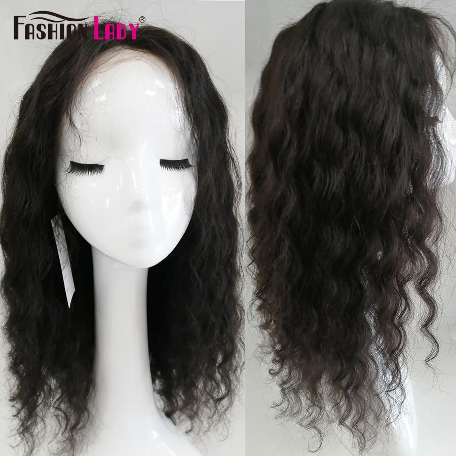 Fashion Lady Human Hair Lace Front Wigs Ocean Wave Lace Front Human Hair Wigs 150 180 200density Hair Wig For Black Women