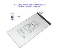 Ciszean 1x4500mAh Batteria di Ricambio Per Sony Xperia Tablet Z3 Compatto LIS1569ERPC SGP611 SGP612 SGP621 batterie + Strumenti