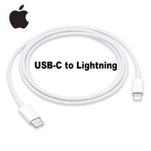 Apple-USB-C Original a Lightning, Cable Lightning de 1m, cargador rápido de 18W para iPhone 6/7/8/X/11/ipad/Macbook