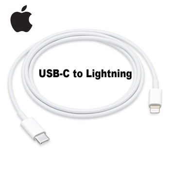 Original Apple USB-C to Lightning Cable 1m Apple Lightning Cable 18W Fast Charger for iPhone iPhone 6/7/8/X/11/ipad/Macbook