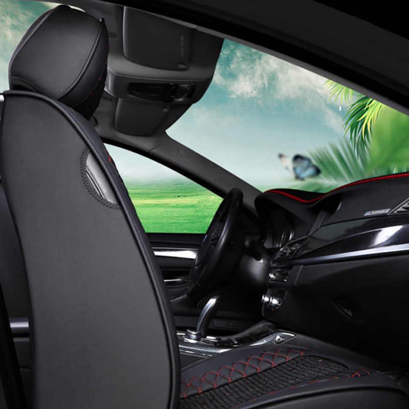 1 pièces housse de siège de voiture en cuir pour renault captur duster logan fluence 2013 kadjar megane laguna accessoires housses de siège