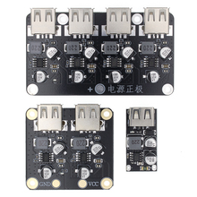 USB QC3 0 QC2 0 DC-DC przetwornica ładowania moduł obniżający 6-32V 9V 12V 24V do szybka ładowarka płytki drukowanej 3V 5V 12V tanie tanio TENSTAR ROBOT CN (pochodzenie) Nowy Regulator napięcia QC 3 0 2 0 Komputer Electronic PCB Board Module Diy Kit Car Charger