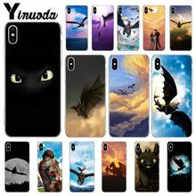 Yinuoda toothless How To Train Your Dragon Smart Cover Phone Case for Apple iPhone11 8 7 6 6S Plus X XS MAX 5 5S SE XR Cases(China)