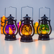 Pumpkins Halloween Lamp Witch Home Decor LED String Lights Lanterns Party Supplies Haunted House