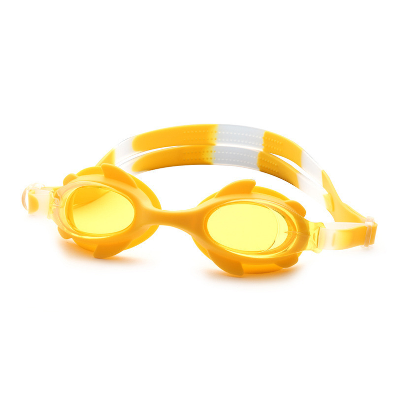 Hot Selling Summer New Style Children Boxed Swimming Goggles Plain Glass High-definition Swimming Goggles Children Swimming Aids
