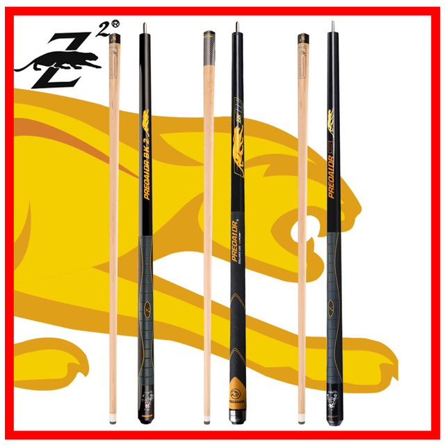 $ US $76.26 PREOAIDR 3142 Billiard Pool Cue  BK Series Pool Cues Stick with Joint Protector 12.75mm /11.75mm Tip Billar Kit with Case