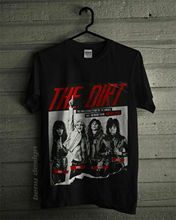 NEW MOTLEY CRUE THE DIRT MOVIE T-SHIRT 2019 SIZE Summer Tops Tees T Shirt top tee