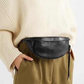 Snake Pattern Belt Bags  3