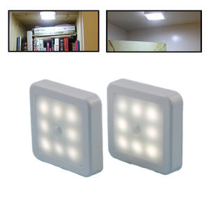 Bedside Lamp Toilet WC Indoor-Lights Smart-Motion-Sensor Battery-Operated Pathway Hallway